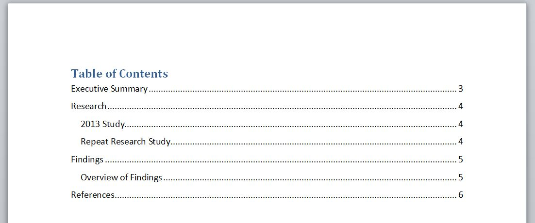table of contents word 2010 thesis Table of contents page for thesis or dissertation go to the division of it training webinar on how to use the auto-format feature in microsoft word 2010.
